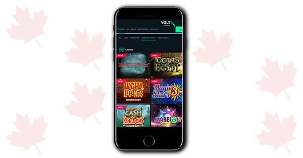 Volt Casino mobile