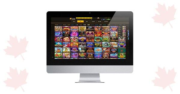 Argo Casino on desktop