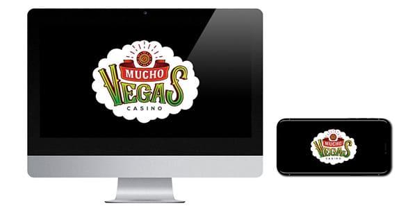 Mucho Vegas logo on screen