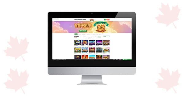 Mucho Vegas Desktop lobby