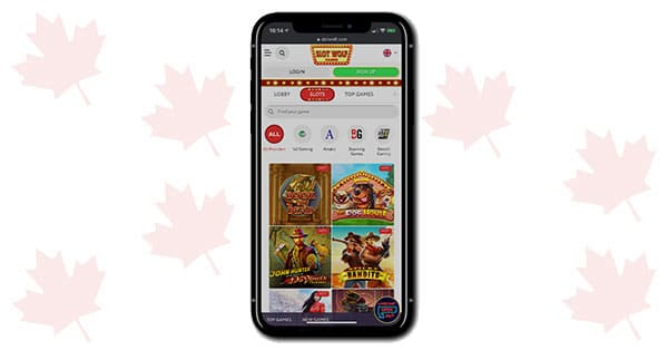 Slot Wolf Casino on mobile