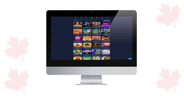 Kasino Slotman di desktop