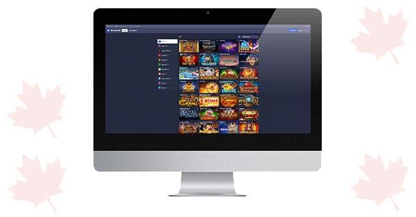 Kasino Betmaster di Desktop