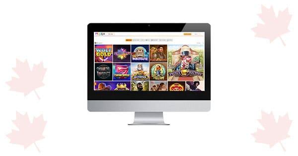 Playigo Casino on desktop