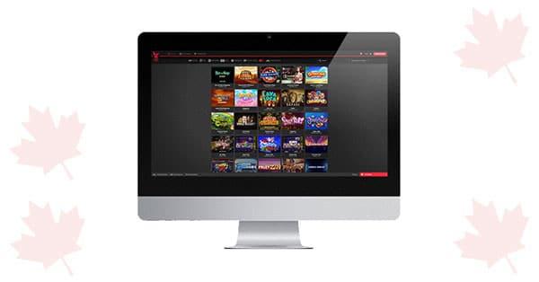 Royal Rabbit Casino Desktop lobby