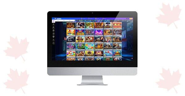 iviCasino Desktop Lobby