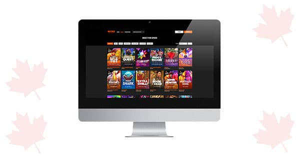 Lobi Desktop Kasino NitroCasino BARU