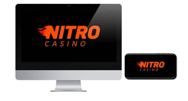 Logo NitroCasino di layar