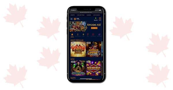 SIA Casino Mobile games