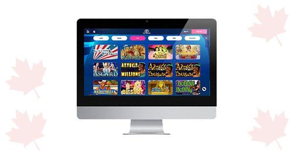 Lobi Desktop Las Atlantis Casino