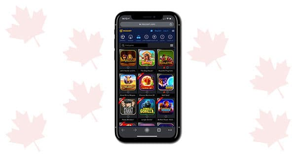 Mozzart Bet Casino Mobile