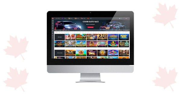 TTR Casino Desktop Lobby