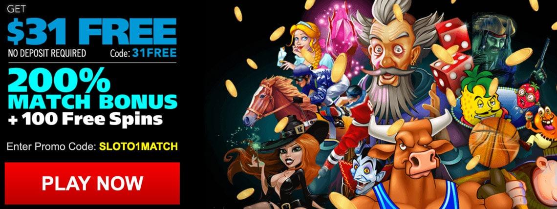 Slotocash Casino No Deposit Bonus Codes