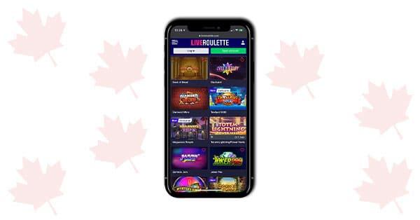 Live Roulette Casino Mobile