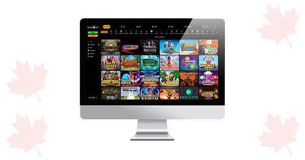 Desktop MaxCazino