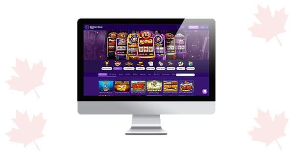 Lobi desktop Dice Casino yang lebih baik
