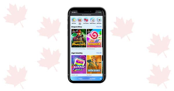 Permainan CasinoFriday Mobile