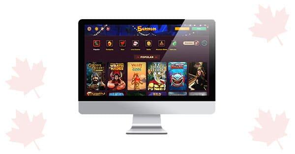5Gringos Casino Desktop