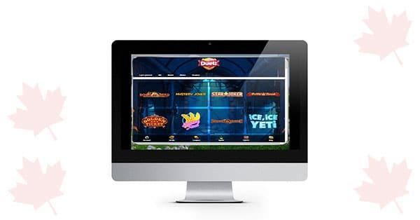 Duelz Casino Desktop