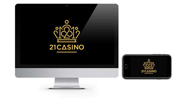 21 logo kasino