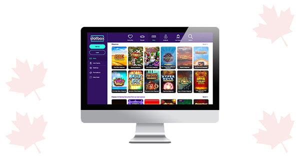 SlotBox Casino Desktop