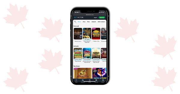 BetVictor mobile casino