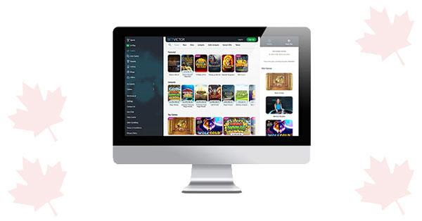 BetVictor desktop casino