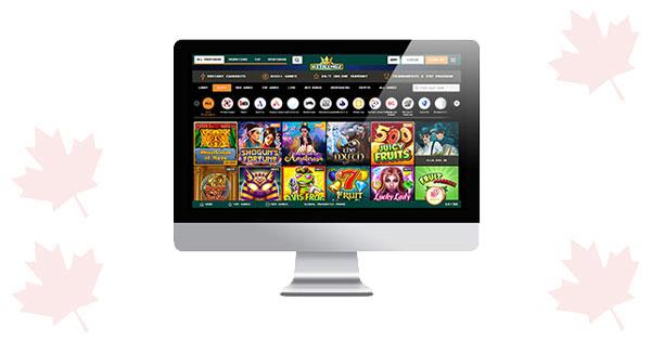 Desktop Kasino Bitkingz