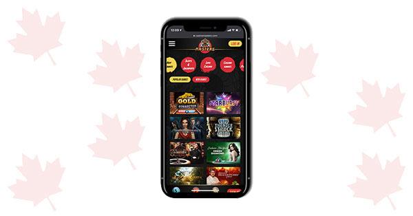 Casino Masters Mobile