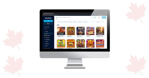 Goodman Casino Desktop Slots