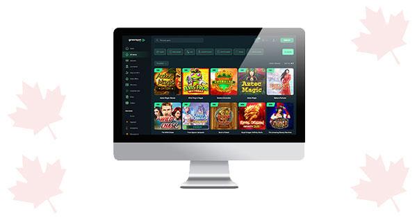 GreenSpin Casino Desktop