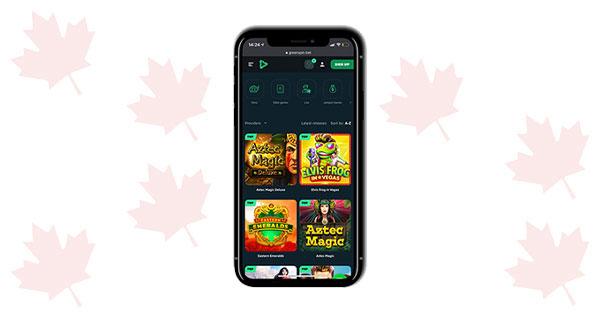 GreenSpin Casino Mobile