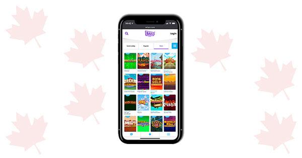 Barz Casino Mobile gaming