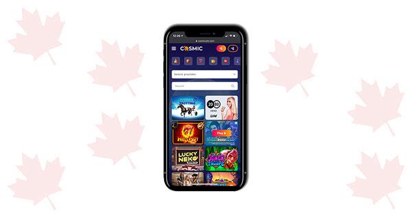 Cosmic Slot Casino Mobile