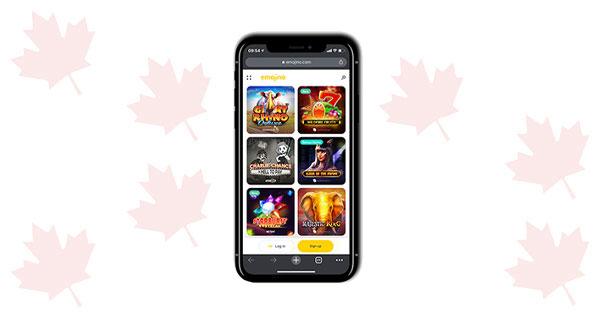 Emojino Caisno Mobile