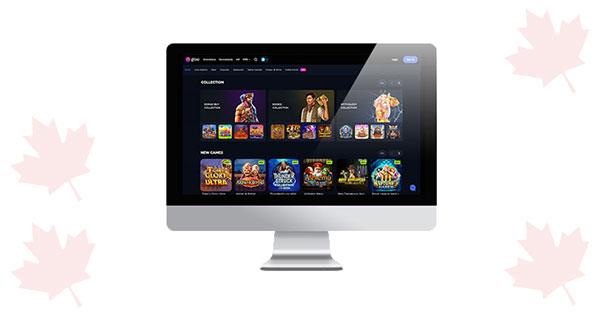 Gioo Casino Desktop lobby