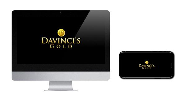 Da Vinci's Gold Logo Free Spins